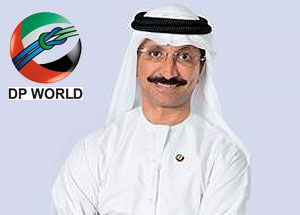 image: Dubai DP World freight terminal port TEU container deep water London Sultan Ahmed bin Sulayem