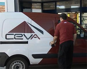 image: Ceva US Logistics global freight shipping boss 3PL event Marv Schlanger