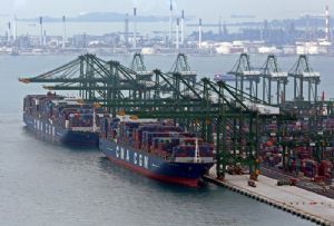 image: CMA CGM China Merchant Holdings port group assets terminal link container shipping