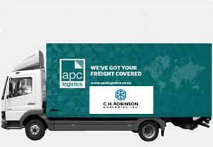 image: Australia New Zealand US freight forwarder logistics group customs broker acquired bought agent APC CH Robinson
