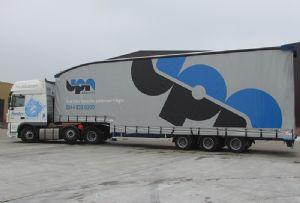 image: UK UPN pallet network logistics haulage
