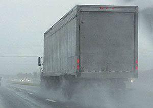 image: UK truck freight forwarding haulier road haulage tachographs  cabotage