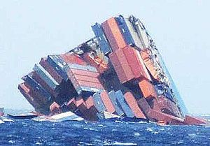image: Japan Swanland MOL Comfort sank legal suit claim container shipping Mitsubishi Heavy ClassNK