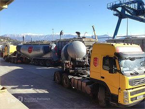 image: Russia multimodal logistics freight Sochi Winter Olympics rail road air cargo RZD Volga Dnepr