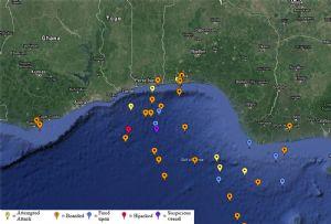 image: Ghana, Gulf of Guinea, piracy, kidnapping, Agisilaos, Dryad Global, IMB,