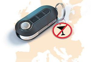 image: European Transport Safety Council (ETSC) road haulage freight drunk driver alcohol locks truck