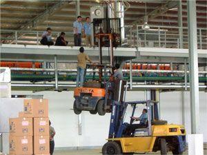 image: UK road haulage trucks freight handling logistics 3PL UKWA warehousing