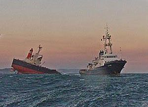 image: South Africa Smart sinking bulk carrier container ship scuppered founder