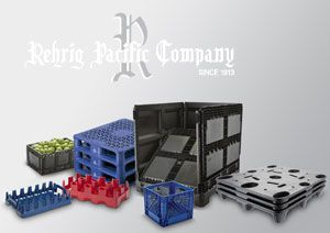 image: US packaging supply chain solution Rehrig pallets cartons