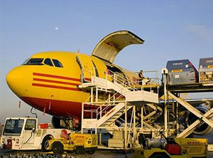image: Turkey UK air freight cargo Heathrow DHL