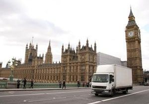 image: UK London Mayor HGV ban Sadiq Khan simplistic freight road haulage ULEZ operators transport association