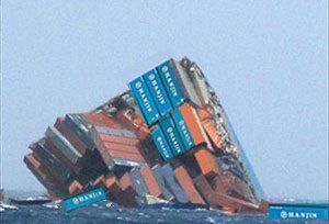 image: Hanjin South Korea Scottish students container shipping line pirate infested South China Sea bankruptcy