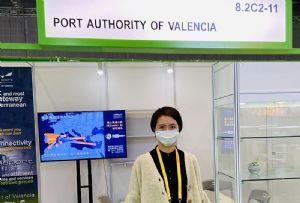 image: Spain, Valencia, port, China, logistics, UNCTAD, International, Import, Export, (CIIE), ships, shipping,