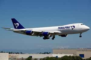 image: Switzerland logistics air freight forwarder RFID Panalpina