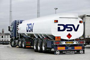 image: UK DSV road logistics chemicals hazardous shipment