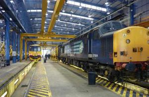 image: UK rail freight intermodal multimodal terminal interchange tonnage logistics