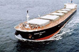 image: US shipping dry bulk carrier Baltic Index ship charter