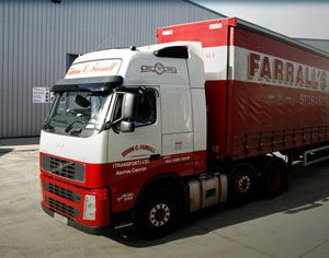 image: UK freight transport road haulage app CPC Farrall�s training drivers