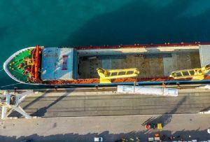 image: Hungary, Egypt, DHL, project, freight, heavy lift, rolling stock, intermodal, Dunakeszi J�rműjav�t� Kft, Egyptian, Railways,