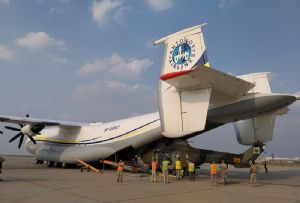 image: Ukraine Spain air freight Antonov all electric vehicles Gnewt London demurrage container freight logistics