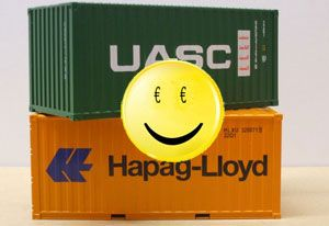 image: EU UASC Hapag Lloyd container shipping merger European Commission