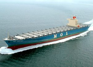 image: MOL US China Vietnam container shipping freight TEU port