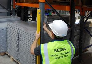 image: UK SEMA Storage Equipment Trade Association freight forwarder racking logistics supplier