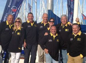 image: UK international freight forwarding Bellville Rodair JP Morgan Asset Management Round the Island yacht race