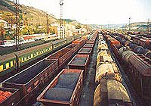 image: Russia cargo multimodal logistics rail freight RZD