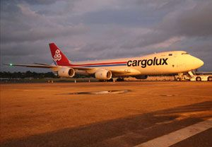 image: Cargolux Luxembourg strike air freight only cargo carrier LCGB ALPL future aviation package