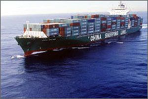 image: COSCO CSCL Container Shipping Rates Chinese US trade matters Captain Jiafu Wei Trans Pacific Atlantic Press Club Washington TEU FEU China Ocean Shipping Group China Shipping Container Lines Handy Shipping Guide cargo carriers