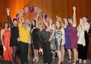 image: UK women logistics supply chain transport charity ball catholic