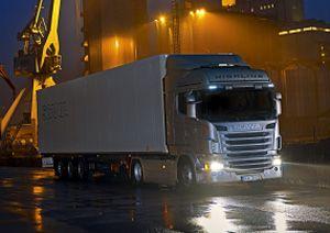 image: India Scania truck heavy haulage freight