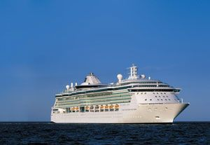image: Kuehne + Nagel ocean freight forwarding logistics ships stores supply chain Royal Caribbean cruise vessel