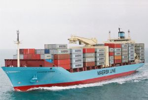 image: US, CMA CGM, Hapag Lloyd, Maersk, Line, ocean. Freight, logistics, transport, rail, rates, spot, Covid-19, pandemic, capacity,