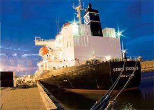 image: US bulk freight tonne vessel