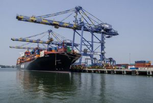image: India Dubai DP World port logistics innovation technology Log-X Startup R�seau Kerala Invest