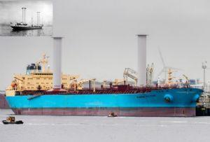 image: Finland Wartsila vessels ocean Flettner rotor ships Norsepower