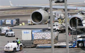 image: IATA air freight cargo supply chain forwarders trucking carriers