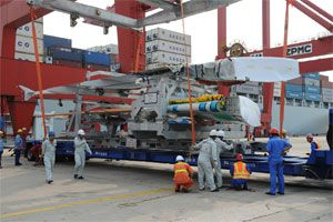 image: Asia Pacific air freight cargo carriers freighter container bulk shipping logistics