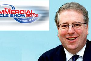 image: UK road haulage operators freight options commercial vehicle Patrick McLoughlin MP