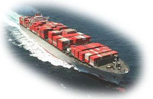 image: Japan MOL NYK container shipping TEU vessels ports