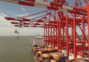 image: Liverpool2 deep water port container traffic freight TEU