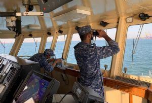 image: Strait of Hormuz, Middle East, Oman, Bahrain, US, UK, International Maritime Security Construct (IMSC), Coalition Task Force (CTF) Sentinel, Bab el-Mandeb, merchant, ships,