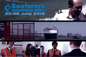 image: Seafarers UK container ship RoRo ferry destroyer Royal merchant navy job employment