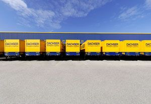 image: France freight forwarding logistics supply chain Paris Dachser