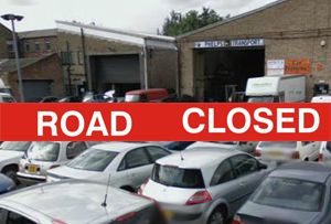 image: UK road haulage freight and logistics Olympics roads close East End London BIFA TfL