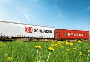 image: Korea Germany Schenker logistics ocean freight container carrier HMM Hyundai Merchant Marine