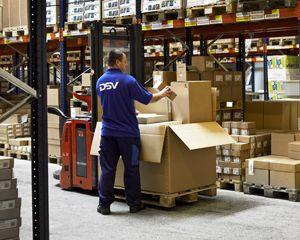 image: DSV freight logistics Aerospace