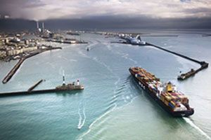 image: Canada France Le Havre freight consolidation NVOCC cargo LCL FCL container transit time